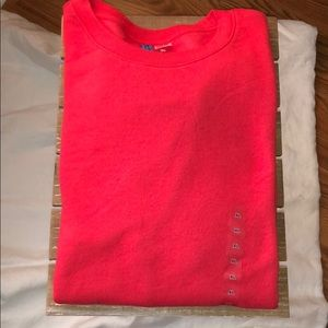 Red crewneck sweater H&M Mens
